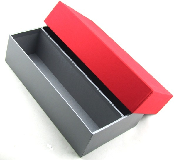 Luxury Red Silver Gift Box